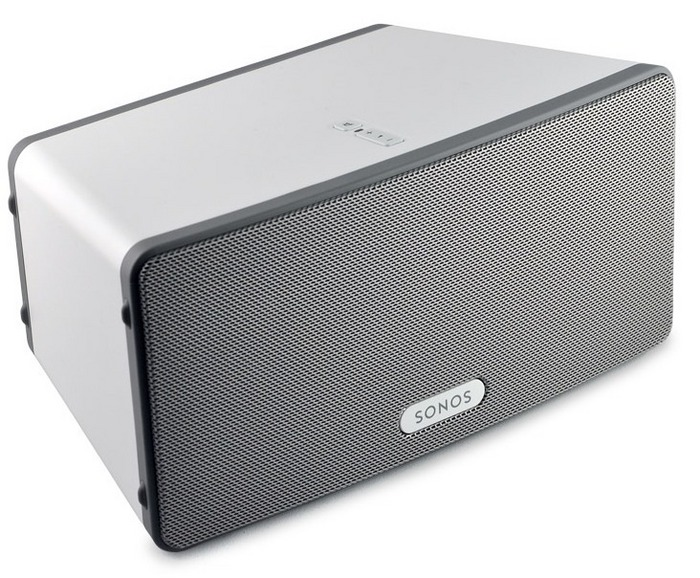 audio solutions sonos play 3 powered speaker. Black Bedroom Furniture Sets. Home Design Ideas
