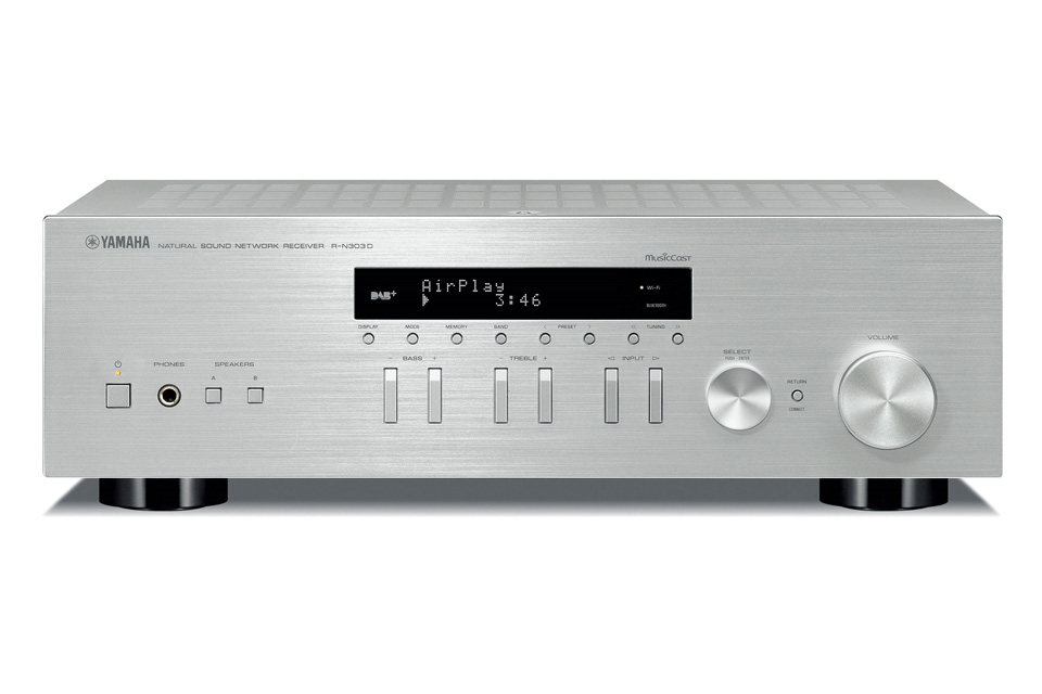 audio solutions yamaha r n303d network stereo receiver. Black Bedroom Furniture Sets. Home Design Ideas