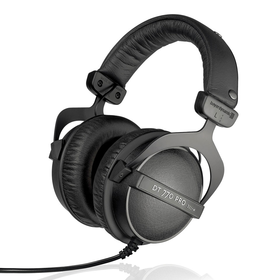 audio solutions beyerdynamic dt 770 pro studio headphones. Black Bedroom Furniture Sets. Home Design Ideas